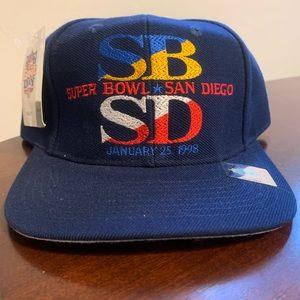 NWT VTG '97 Super Bowl XXXII Strapback Hat